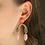Thumbnail: Petal Arch Earrings