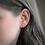 Thumbnail: Dainty Hot Pink Stud Earrings
