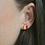 Thumbnail: Red & Gold Circle Studs