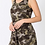 Thumbnail: Camouflage Sleeveless Romper with Pockets