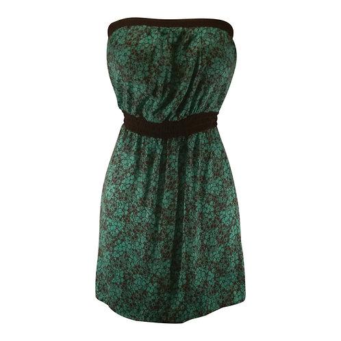 Strapless Elastic Waist Dress