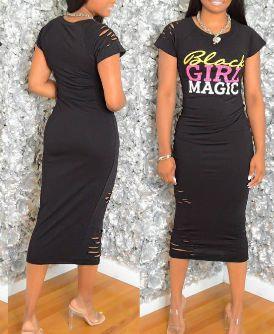 Black Girl Magic Dress