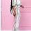 Thumbnail: 2 Piece Short Sleeve Round Neck Pants Set