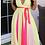 Thumbnail: Multi Color Sleeveless V Neck Maxi Dress