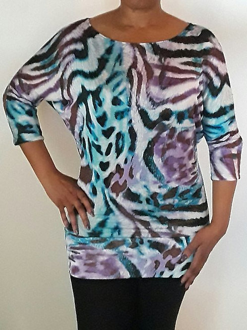 Tunic with Dolman Sleeves