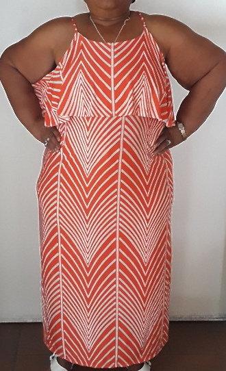 Sleeveless Strappy Print Dress