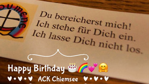 Erster Geburtstag des ACK Chiemsee und Wechsel des Vorsitzes
