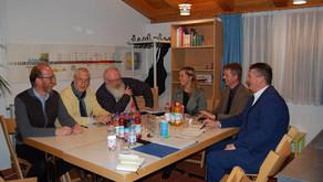 Letzte Sitzung des Arbeitskreises Ökumene in Prien