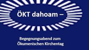 ÖKT dahoam – Begegnungsabend zum Ökumenischen Kirchentag