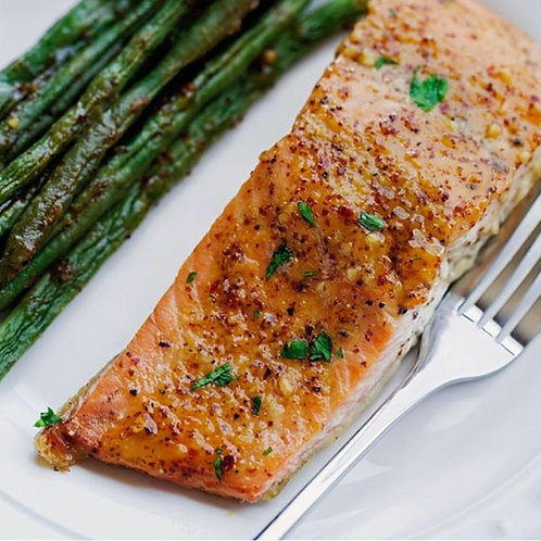 Honey Spice Salmon