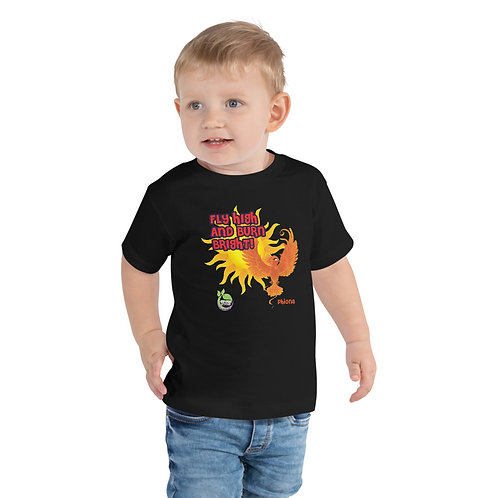 Phiona's Fly High & Burn Bright Toddler Tee