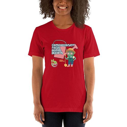 Cindy Cilantro's Compassionate Focus Unisex T-Shirt