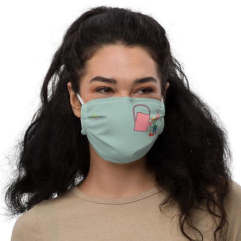 Cindy Cilantro Premium Face Mask
