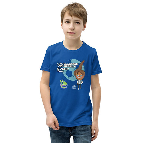 Clive Clove Challenge Yourself Daily Youth T-Shirt