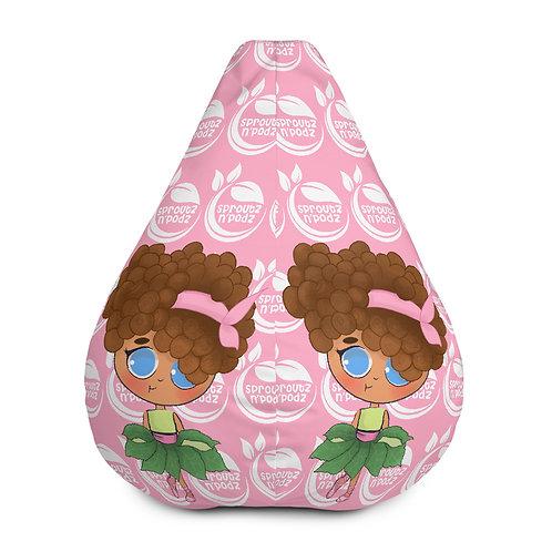 Addy Allspice Bean Bag Chair w/ filling