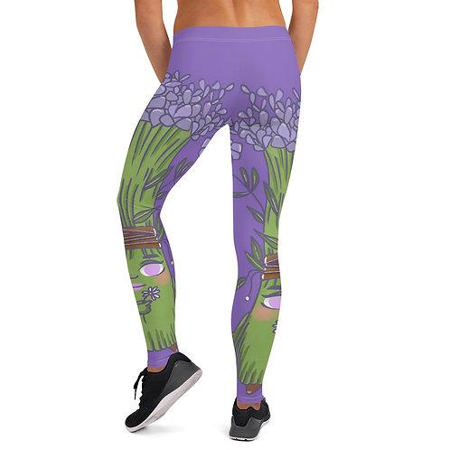 Luna Lavender Indigo Women's Leggings