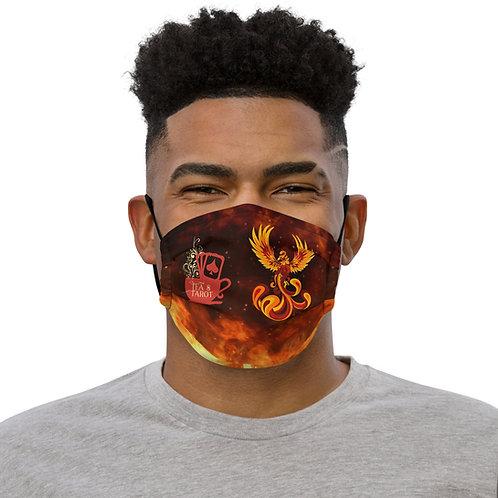 Phoeix Fire Tea & Tarot Logo Face mask