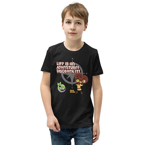 Raed Reishi Life Is An Adventure Youth T-Shirt