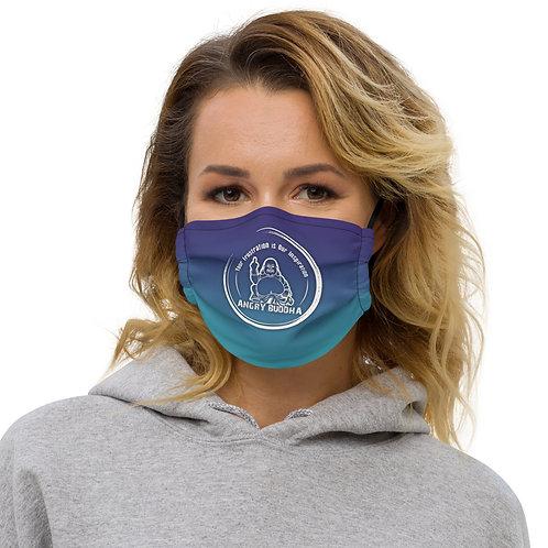 Angry Buddha Logo Face mask