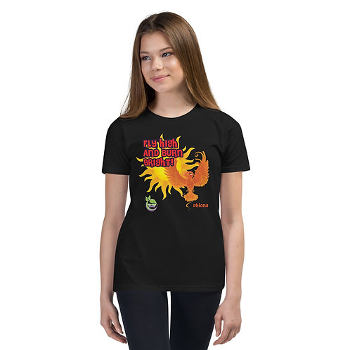 Phiona's Fly High & Burn Bright! Youth T-Shirt