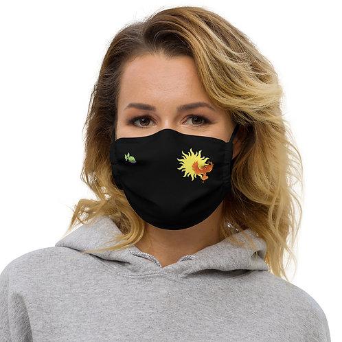 Phiona Black Premium Face Mask