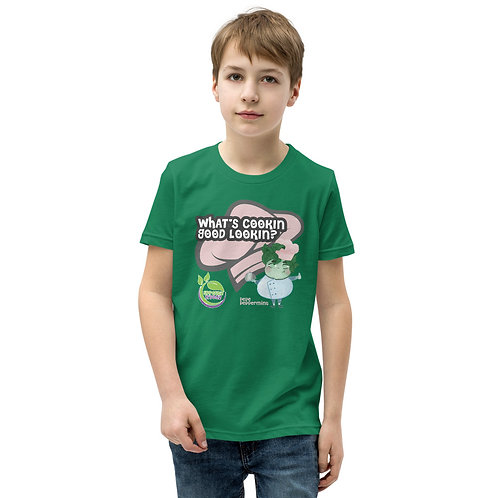 Pepe Peppermint's What's Cookin Good Lookin? Youth T-Shirt