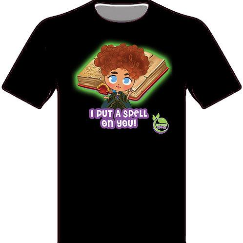 Addy Allspice Spellbook T-shirt (Ad)
