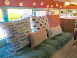 @wanderlustbeachbus couch