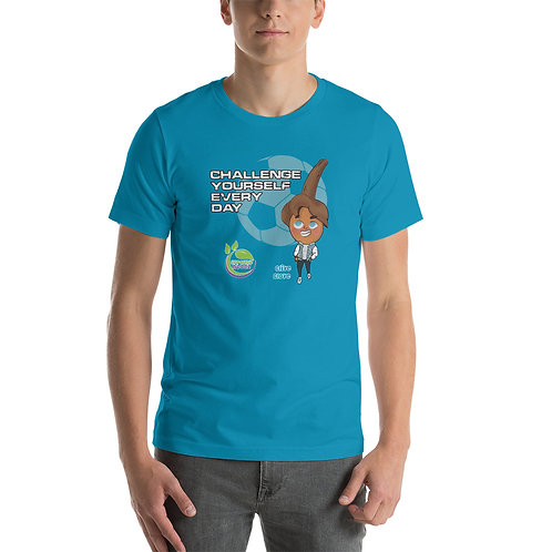 Clive Clove Challenge Yourself Daily Unisex T-Shirt