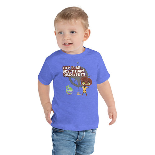 Raed Reishi Life Is An Adventure Toddler Tee