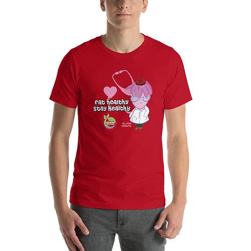 Dr. Edgar Echinacea Stay Healthy Unisex T-Shirt