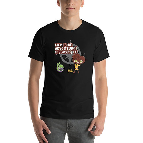 Raed Reish Life is An Adventure Unisex T-Shirt