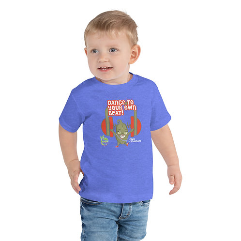 Caleb Cardamom Dance To Your Own Beat Toddler Tee