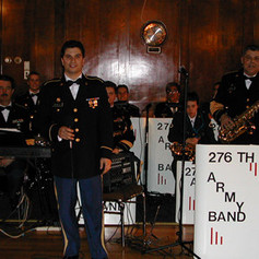 Carlo and The 276th Army Band