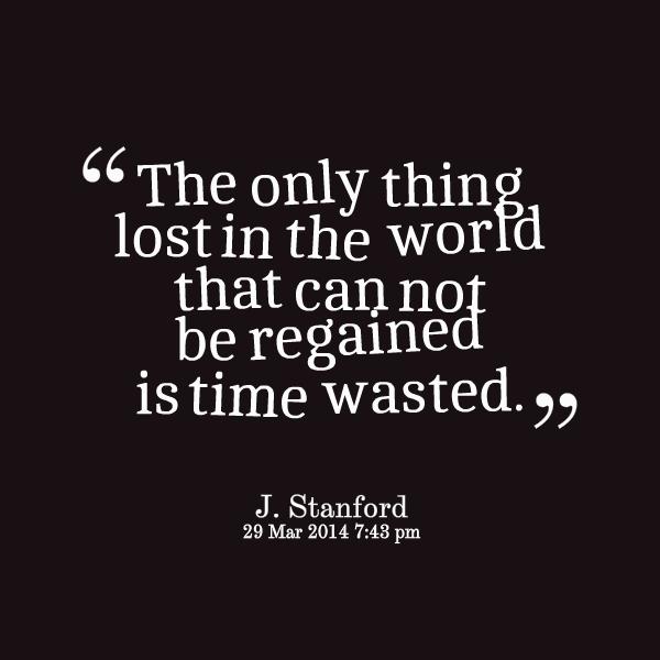 Lost Time Quotes. QuotesGram