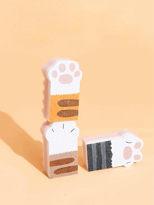 Cat Paw Sponges (Set of 3)