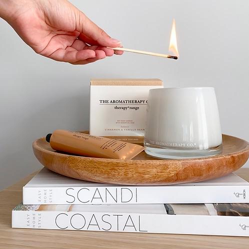 Therapy Cinnamon & Vanilla Bean Balance Candle