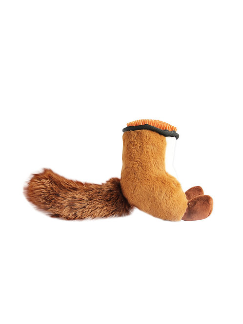 Oh My Butt Squeaker Toy (Squirrel)