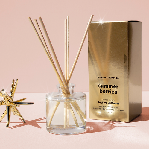 Summer Berries Limited Edition Festive Diffuser