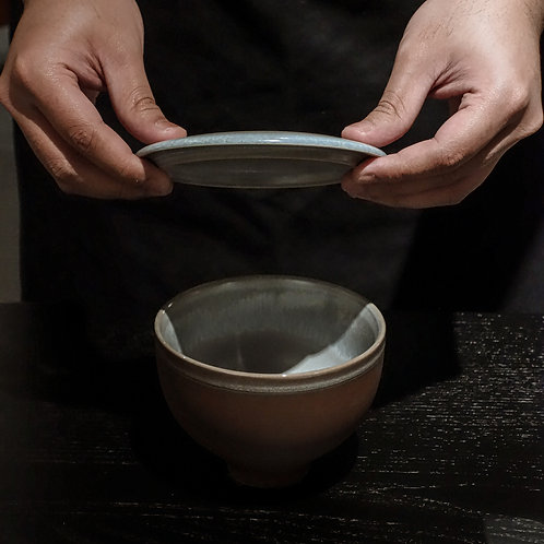 Auberge Large Bowl with Flat Lid
