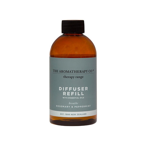 Therapy Rosemary & Peppermint Diffuser Fluid Refill