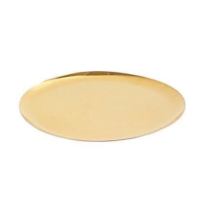 Gold Round Tray