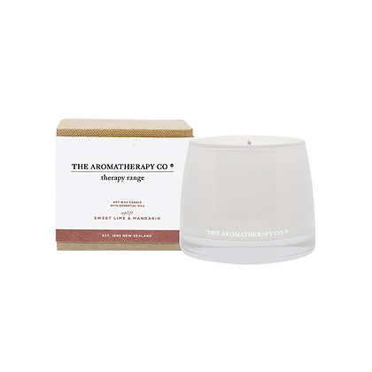 Therapy Sweet Lime & Mandarin Uplift Candle
