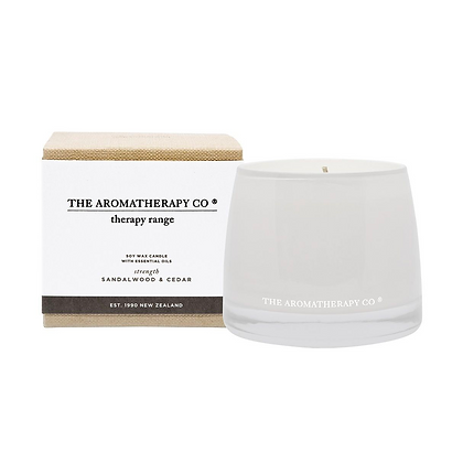 Therapy Sandalwood & Cedar Strength Candle