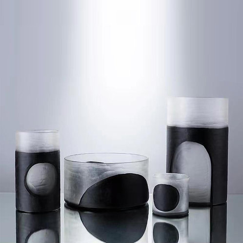 Abstract Glass (Set of 4)