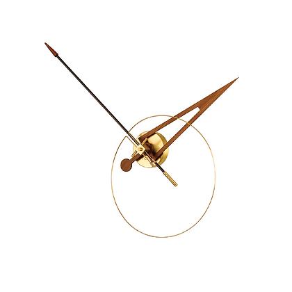 Cris n Walnut Clock
