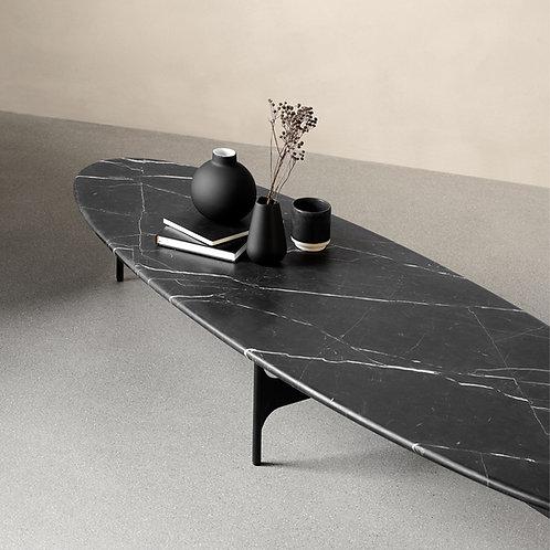 Floema Oval Marble Top Coffee Table