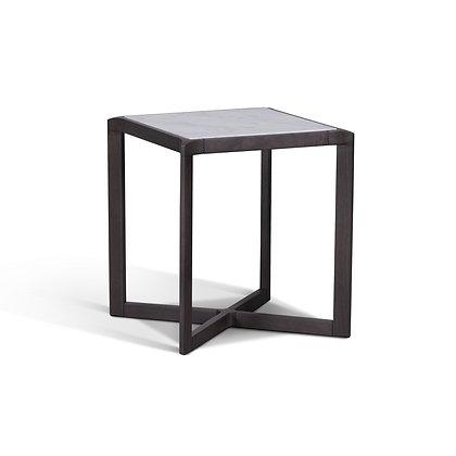 Straight Edge Side Table (Marble)