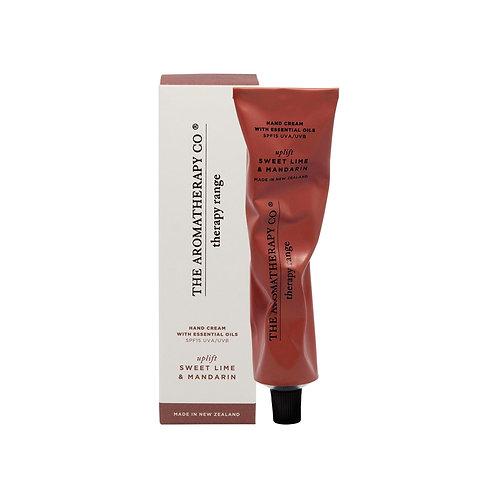 Therapy Sweet Lime & Mandarin Uplift Hand Cream