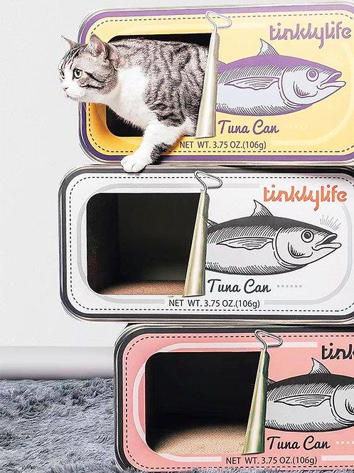 Tuna Can Nest & Scratcher